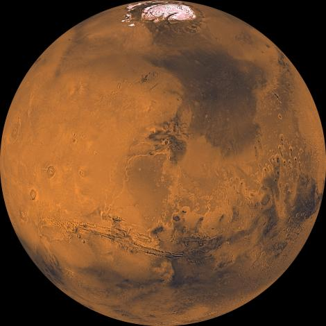 Global Color Views of Mars by the Jet Propulsion Laboratory at NASA.