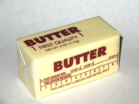 Western pack butter by Skarg on Wikimedia Commons. Used under Creative Commons license.