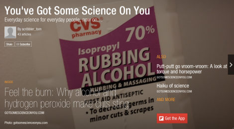 You've Got Some Science On You on Flipboard