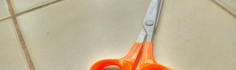 095/366 - Scissors in HDR by Arria Belli on Flickr. Used under Creative Commons license. http://www.flickr.com/photos/arriabelli/2500283558/