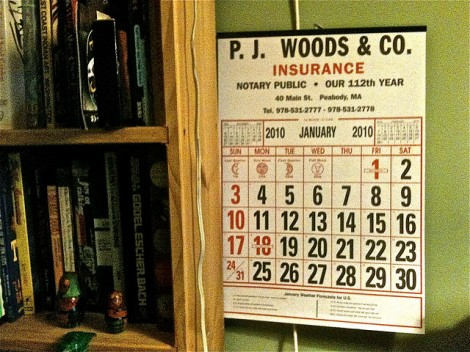 Insurance Company Calendar by cheezepix on Flickr. Used under Creative Commons License. http://www.flickr.com/photos/cheezepix/4329248483/